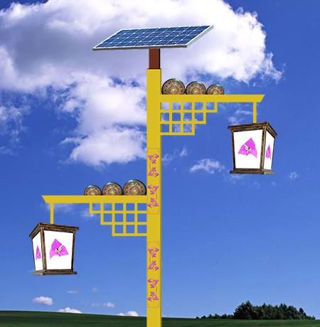 Double lamps solar landscape s